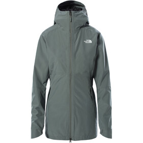 The North Face Hikesteller Chaqueta Parka Shell Mujer, agave green
